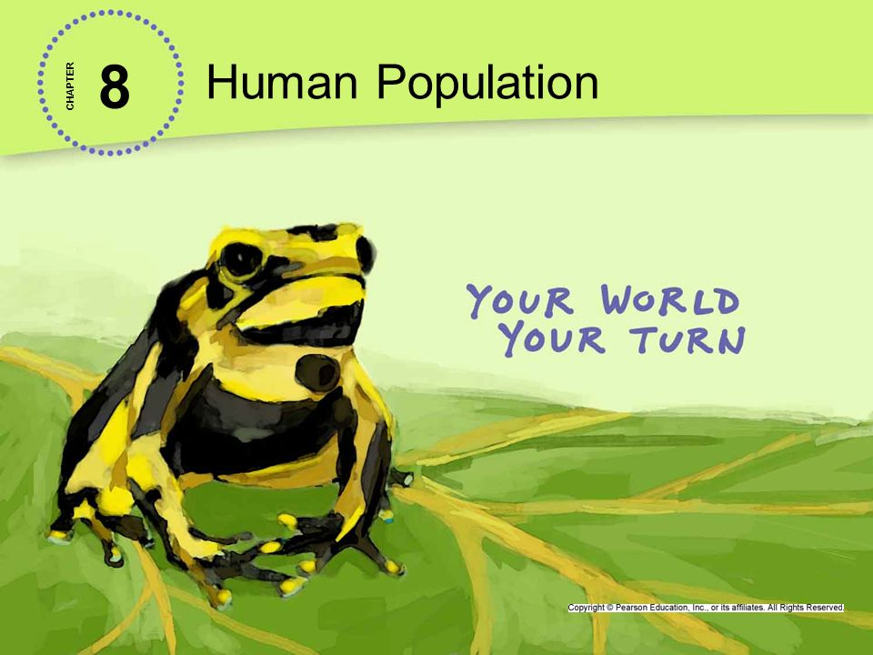 Human Population 8. CHAPTER.