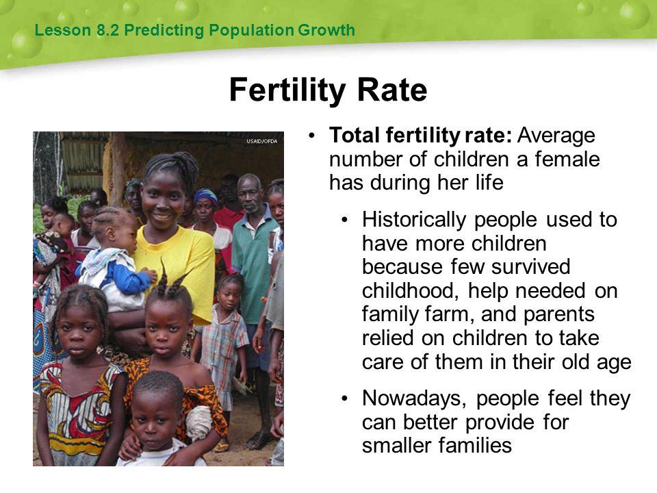 Lesson 8.2 Predicting Population Growth
