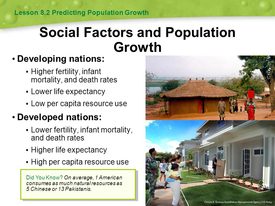 Social Factors and Population Growth