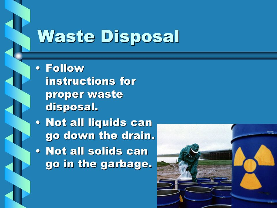 proper waste disposal essay Essays - largest database of quality sample essays and research papers on proper waste disposal.