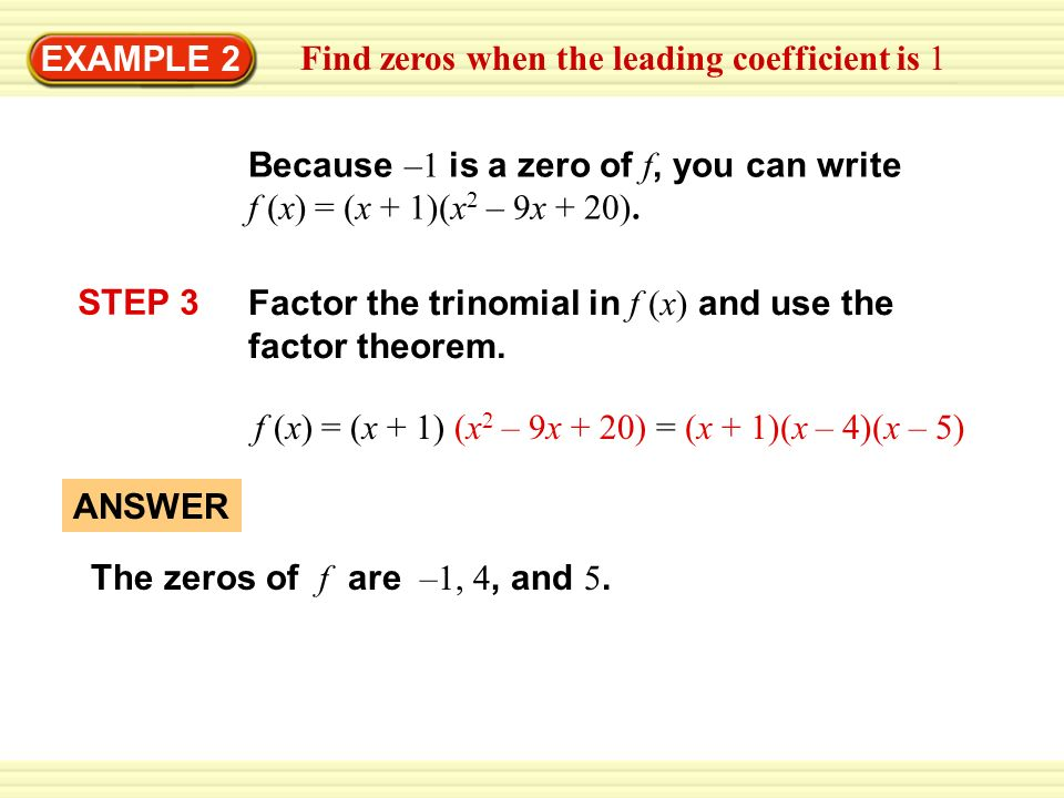 Factor completely. 1. x2 – x – 12 ANSWER (x – 4)(x + 3) - ppt download