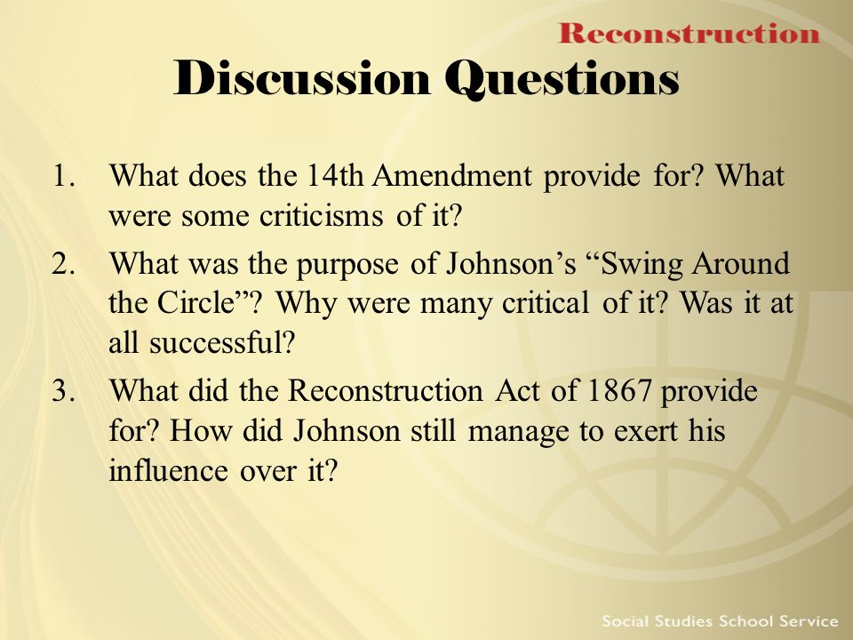 did the congress made amendment 14 On june 18, 1866, congress adopted the fourteenth amendment, which guaranteed citizenship and equal protection under the laws regardless of race, and sent it to the states for ratification after a bitter struggle that included attempted rescissions of ratification by two states, the fourteenth amendment was adopted on july 28, 1868.