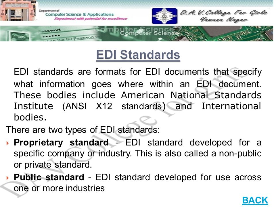 electronic data interchange systems ppt video online With edi x12 standard documentation