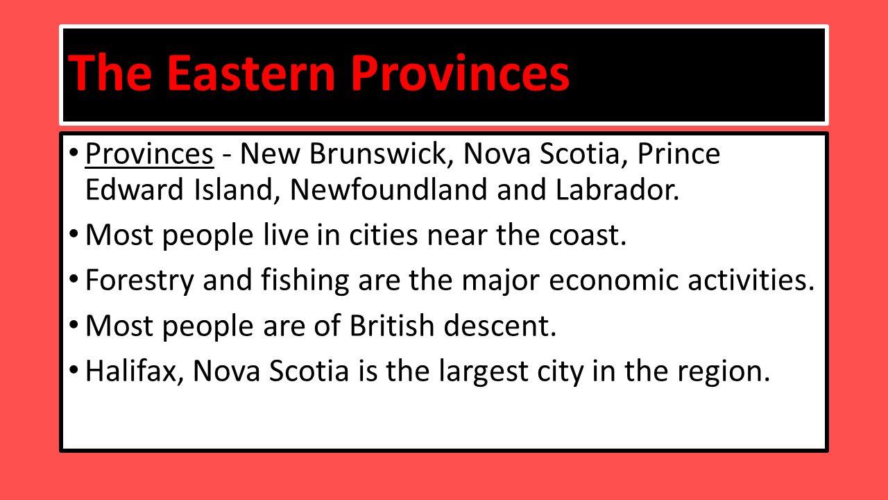 Cities Near Prince Edward Island
