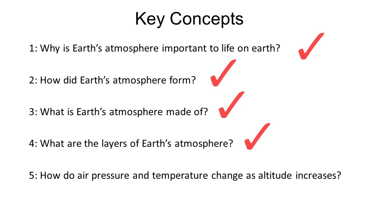 Earth's Atmosphere. - ppt video online download