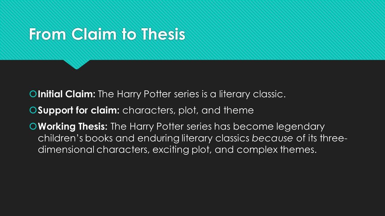thesis classic theme What would be a good thesis statement for an essay theme on science and technology in three classic novels i wrote an essay on the following essay theme: what attitudes toward science and.