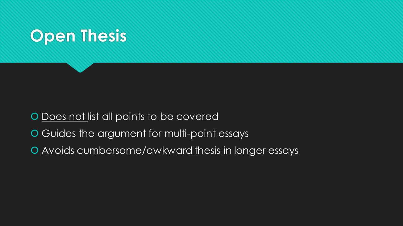 thesis points Conclusion paragraphs   now readers seek satisfaction by reading a conclusion statement that wraps up all the main points nicely  restate the thesis.