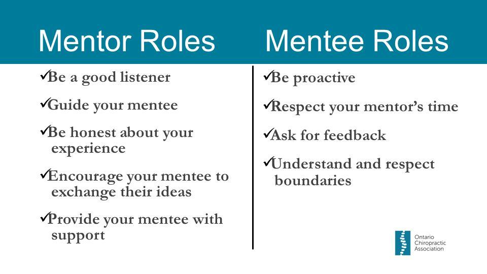 mentor mentee reflections