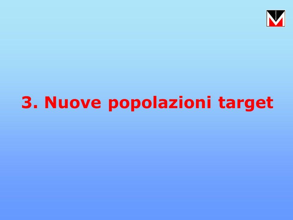 3. Nuove popolazioni target