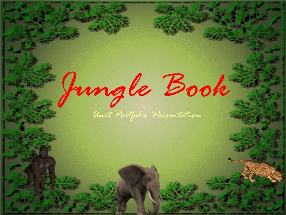 Jungle Book Unit Portfolio Presentation