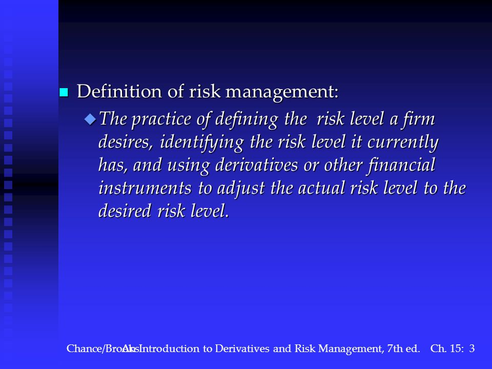 What are the main risks associated with trading derivatives?