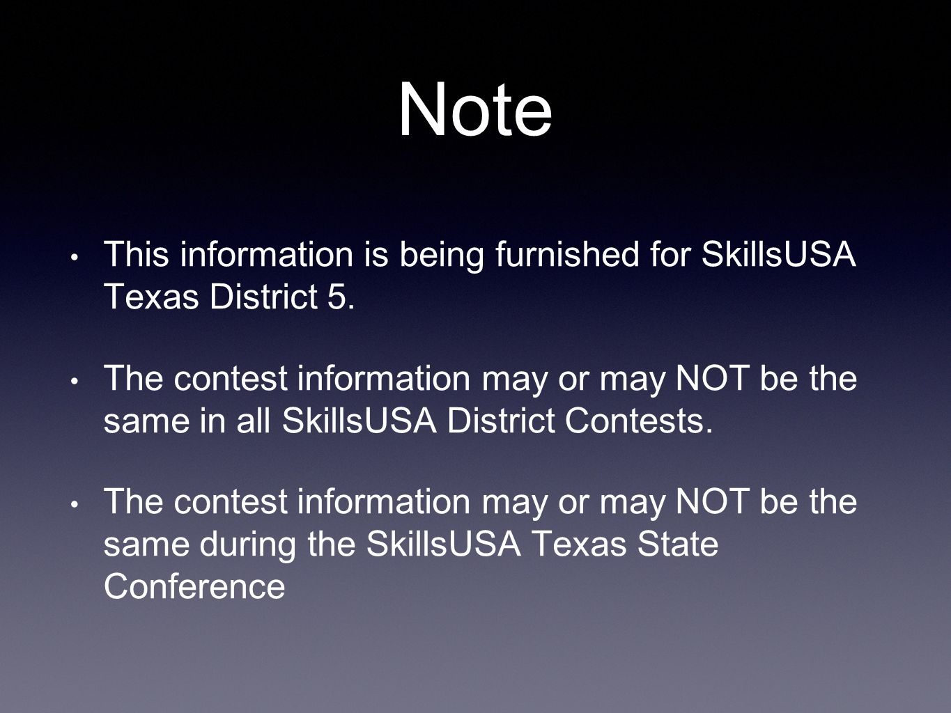 SkillsUSA Texas District Cosmetology Technical Contest Updates ...