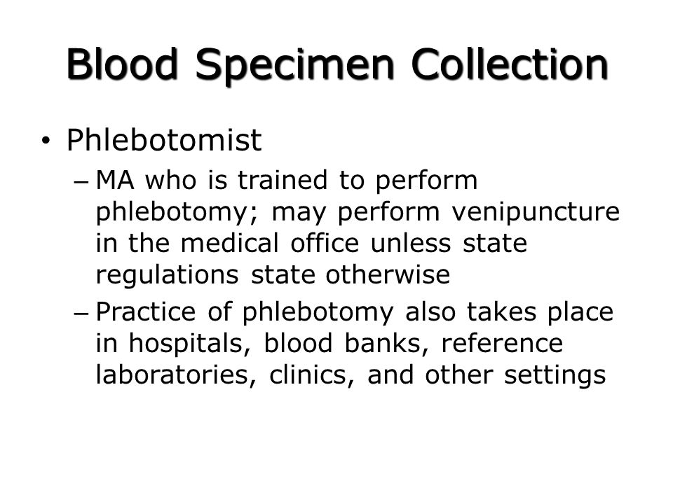 Nha Mock Phlebotomy Certification Exam