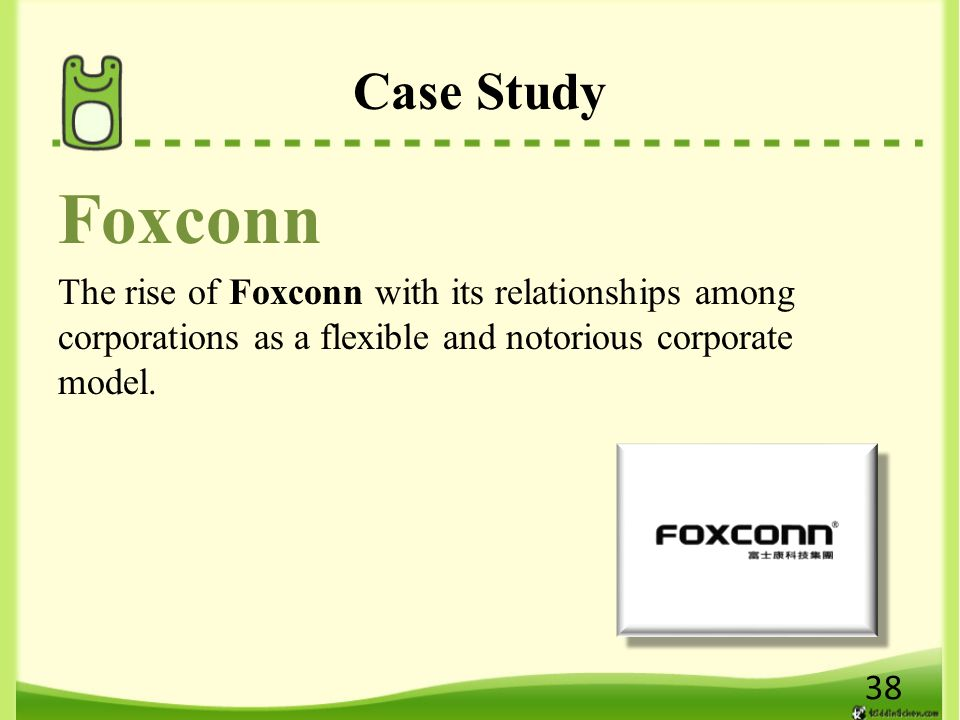 foxconn on the way of organization Foxconn, eager to present its positive side, agreed to give re/code a restricted  tour of a  here are a few stories we collected along the way  this is a  company-run organization that woo said is nonetheless empowered to.
