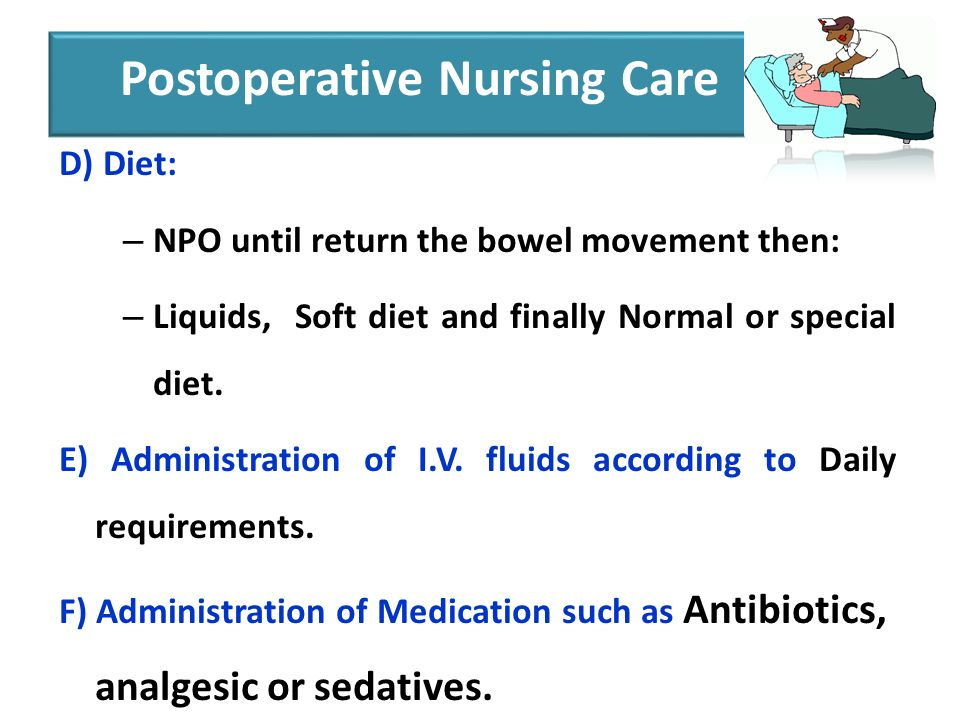 Postoperative Complications – Clinical Guidelines for Nurses