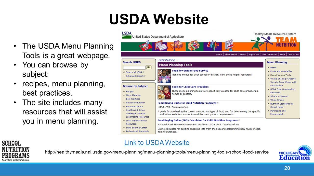 Menu planning ppt video online download for Free website planning tool