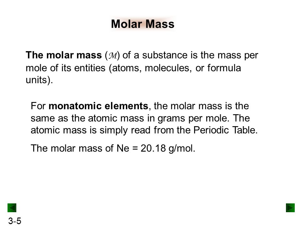 Stoichiometry of formulas and equations ppt download 5 molar mass urtaz Gallery