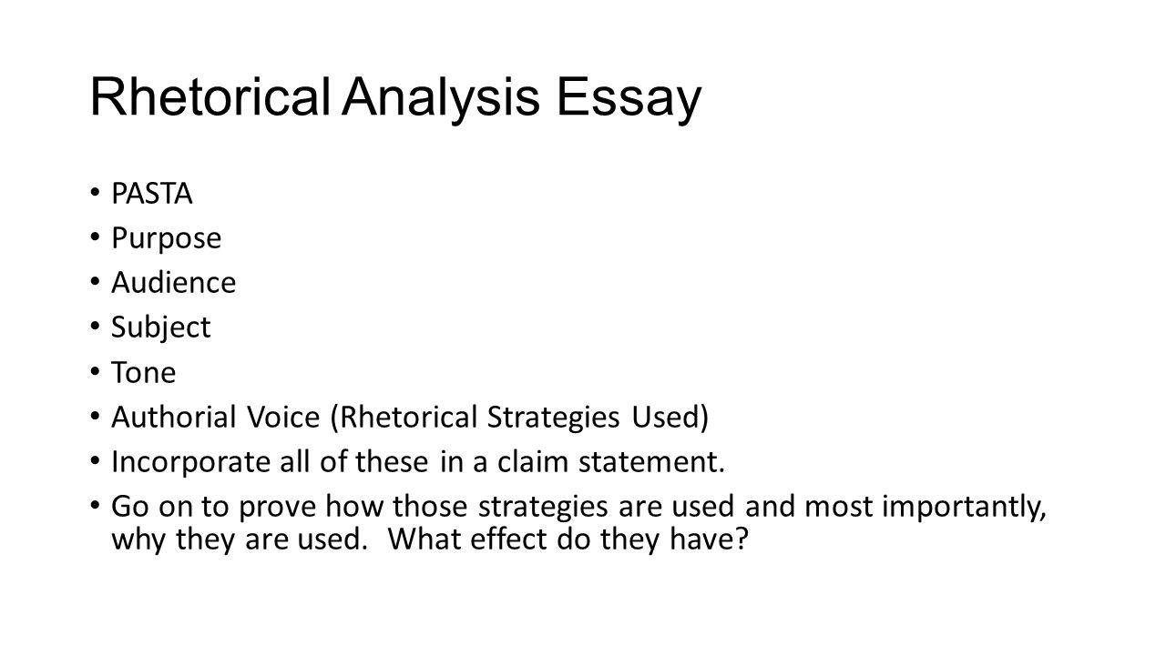 subject analysis essay
