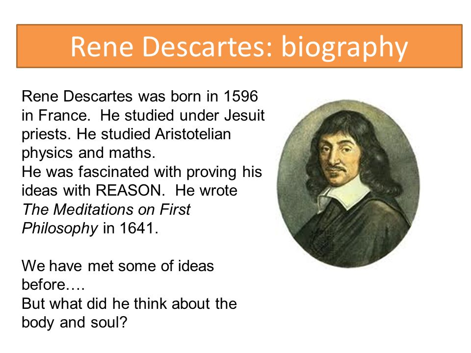 an analysis of existence in reality by rene descartes Descartes' third meditation: proof of god's existence in rene descartes meditations on first philosophy, descartes is seeking to find a system of stable, lasting and certain knowledge, which he can ultimately regard as the truth.