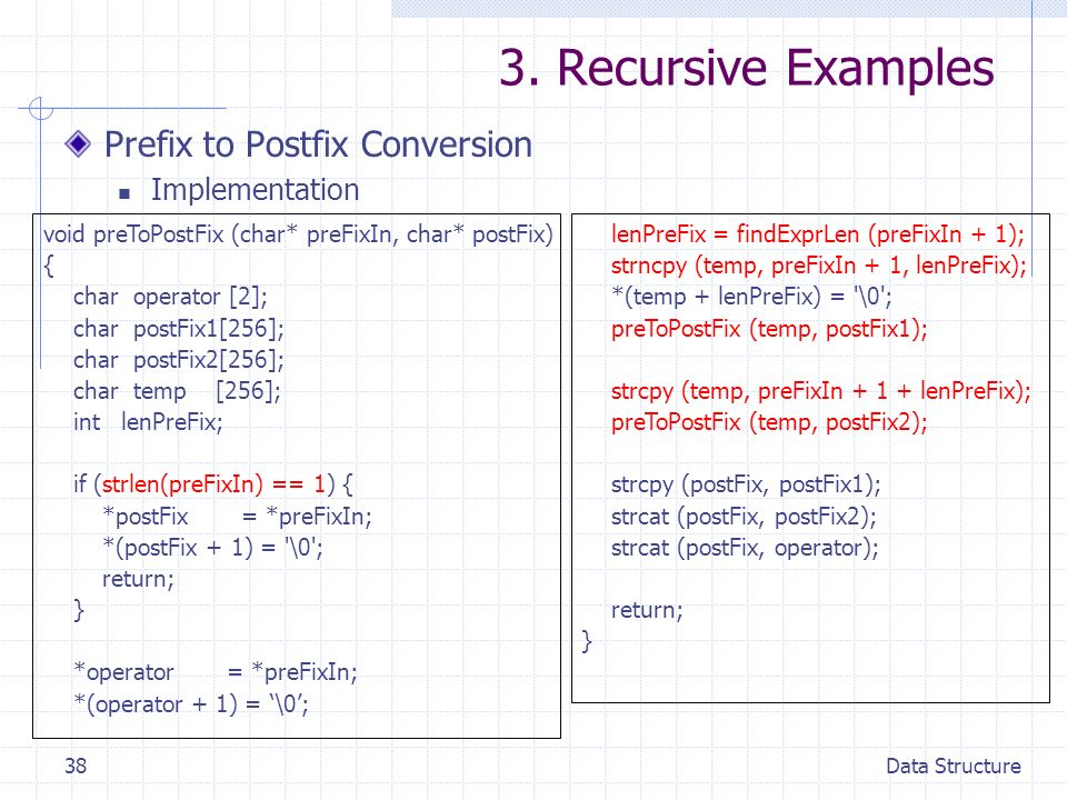 recursion in data structure pdf