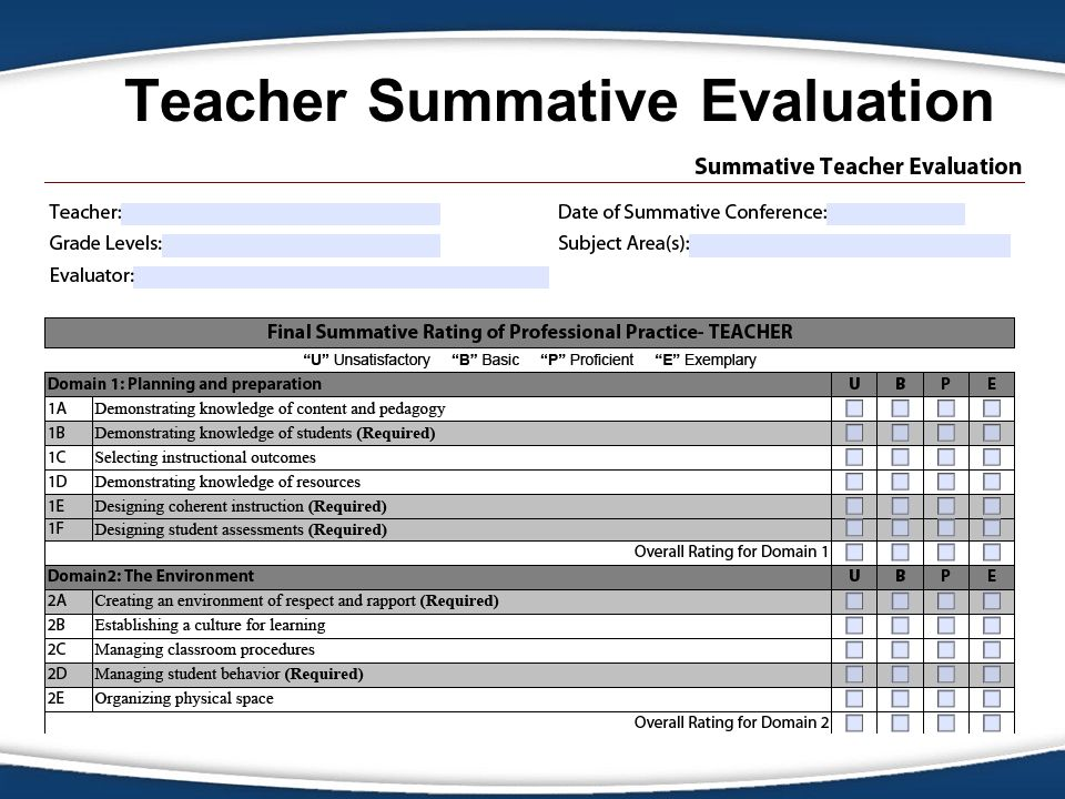 Msbsd Teacher Evaluation - Ppt Video Online Download