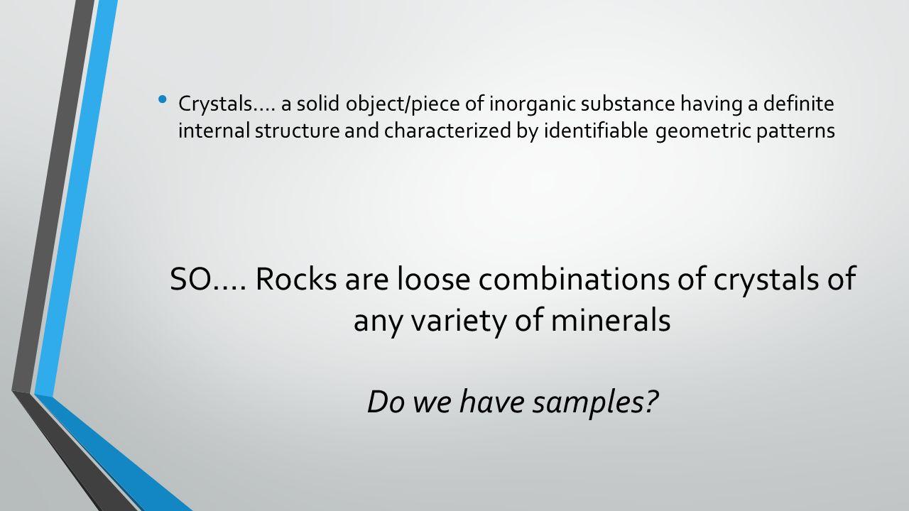 5 Crystals. ...