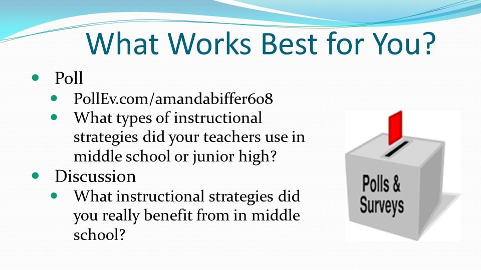 instructional strategies in the classroom