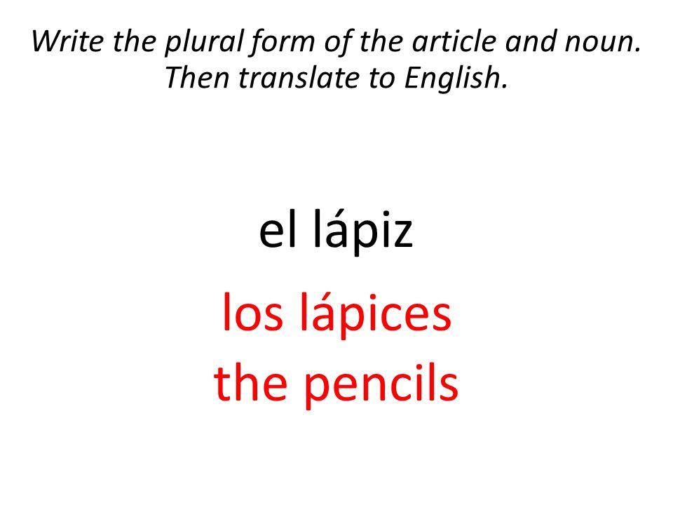 el bolígrafo los bolígrafos the pens - ppt video online download