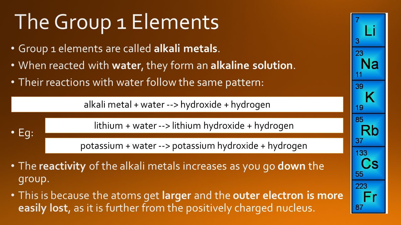 Hope you find these useful ppt video online download the group 1 elements group 1 elements are called alkali metals gamestrikefo Gallery