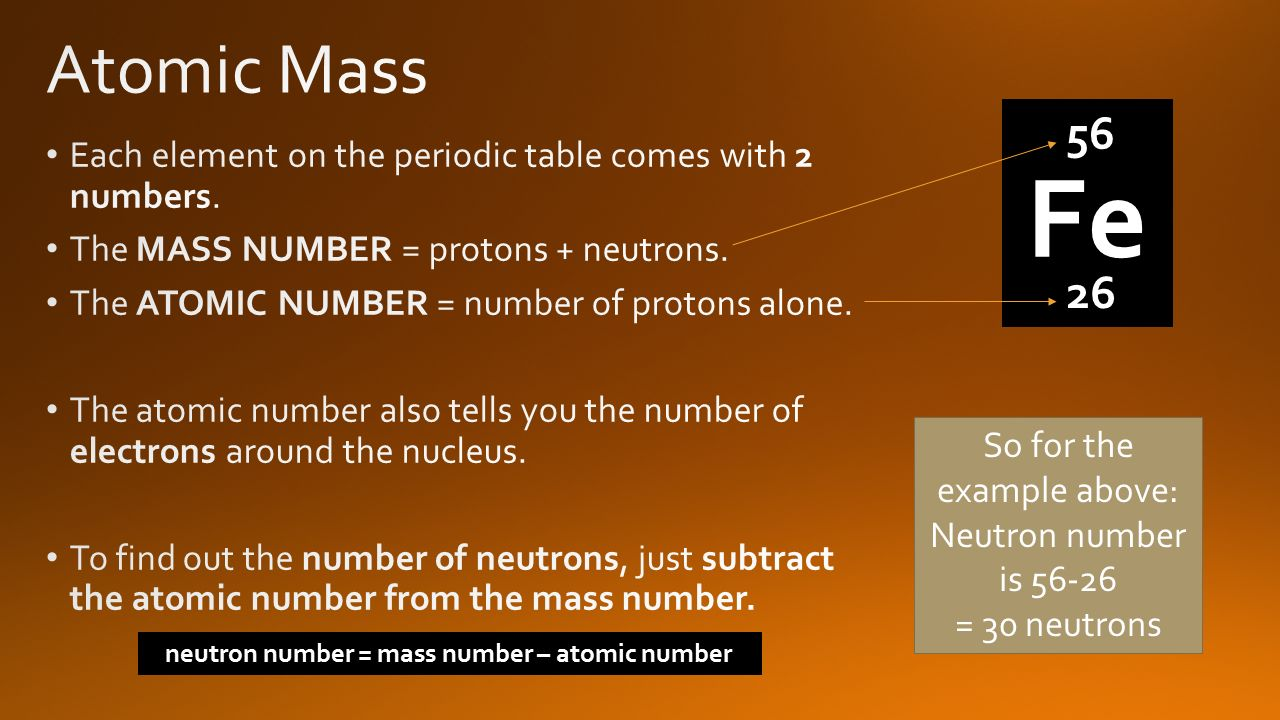 Periodic table with atomic mass and neutrons choice image atomic number vs mass number periodic table images periodic hope you find these useful ppt video urtaz Gallery