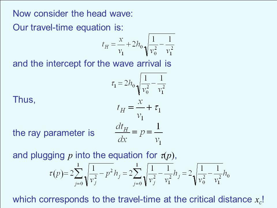 Travel Time Equation