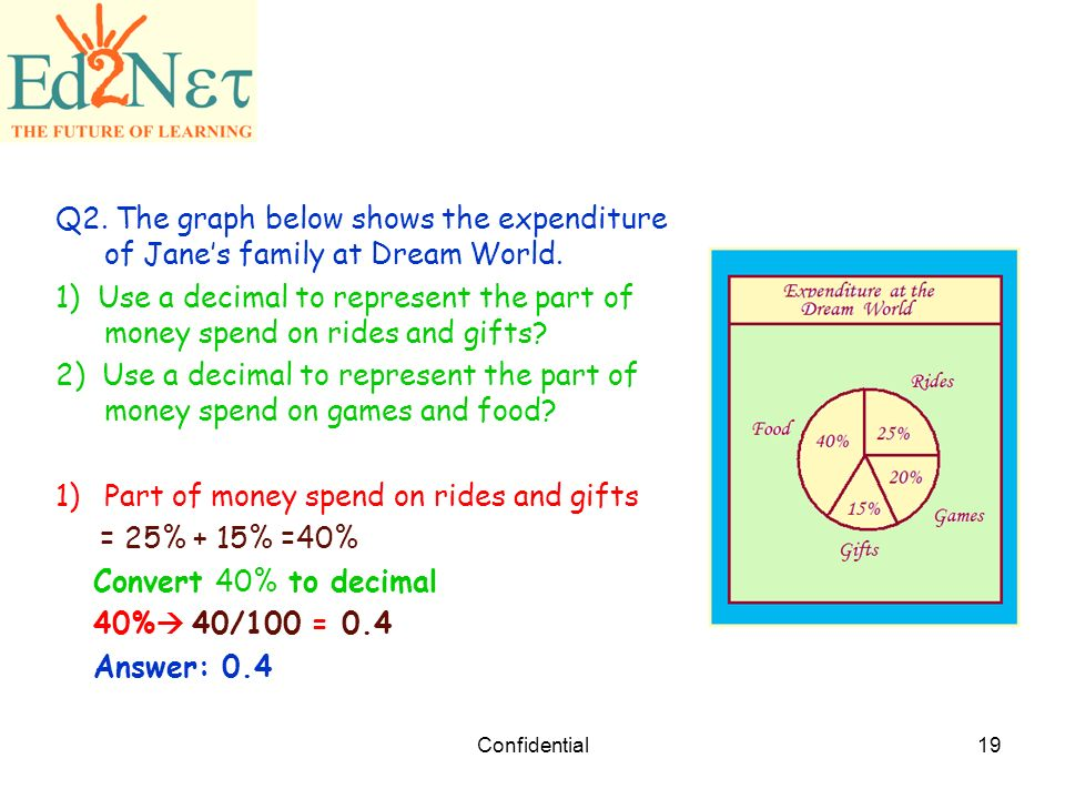 Our Lesson Decimal and Percent. - ppt download