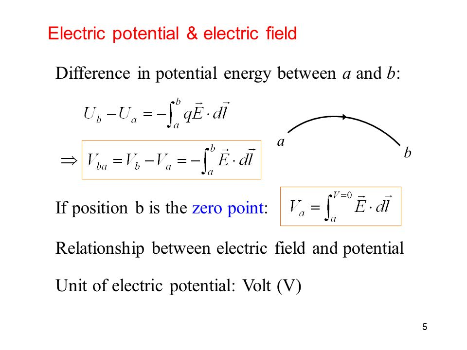 what is the relationship of electric potential energy charge and voltage