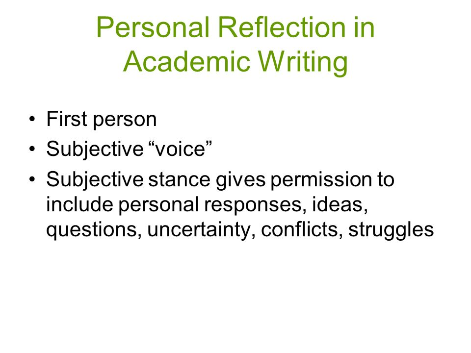 academic essay writing first person Using an appropriate writing style different academic subjects will demand different styles of writing from you some might require you to use the third person ('smith argues that', or 'he said') and to achieve a certain amount of distance from the arguments you are writing about.