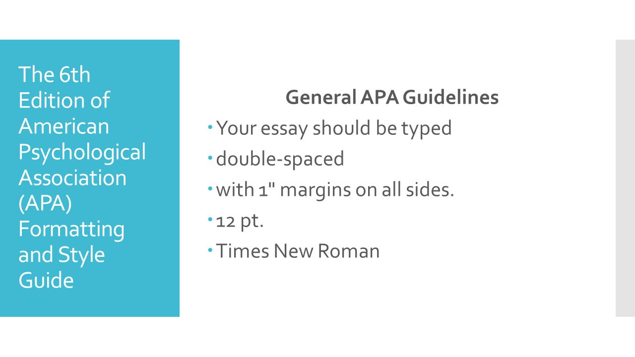 apa 6th edition reference thesis Apa for academic writing apa style guide for electronic references (6th ed) you must cite the original author and year apa.