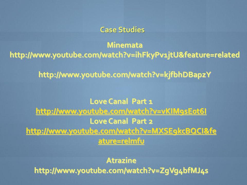 Love Canal :: Start of a Movement - Boston University