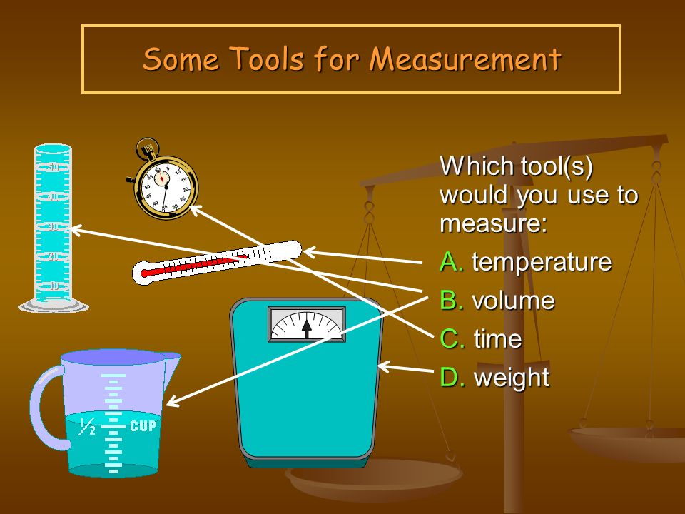 what tool do you use to measure volume