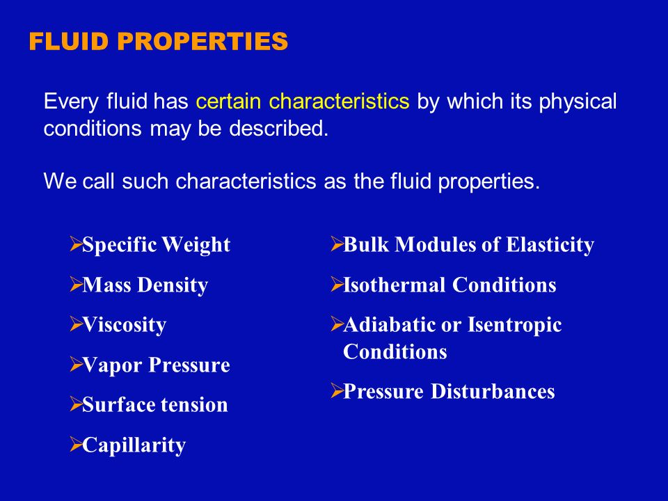 fluid properties density and surface tension Fluid properties density , viscosity , surface tension & capillarity 1 name :-  margeel shah -140410109094 smarth shah-140410109095 smit.