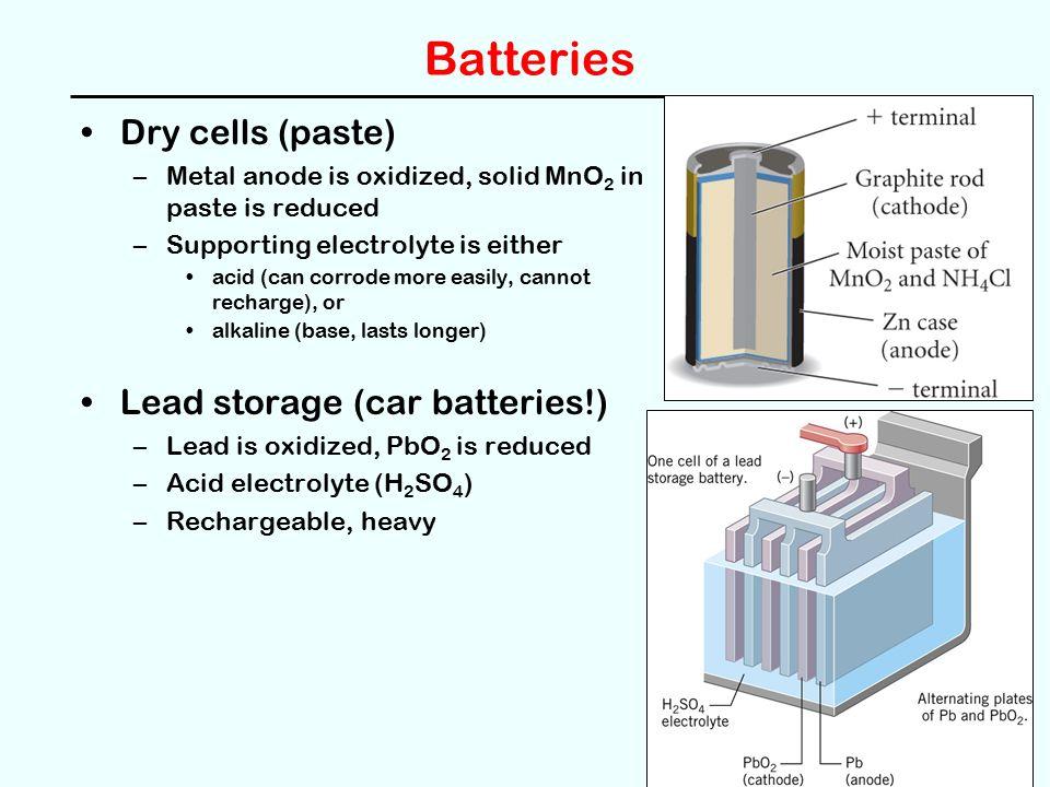 28 Batteries Dry Cells Paste Lead Storage