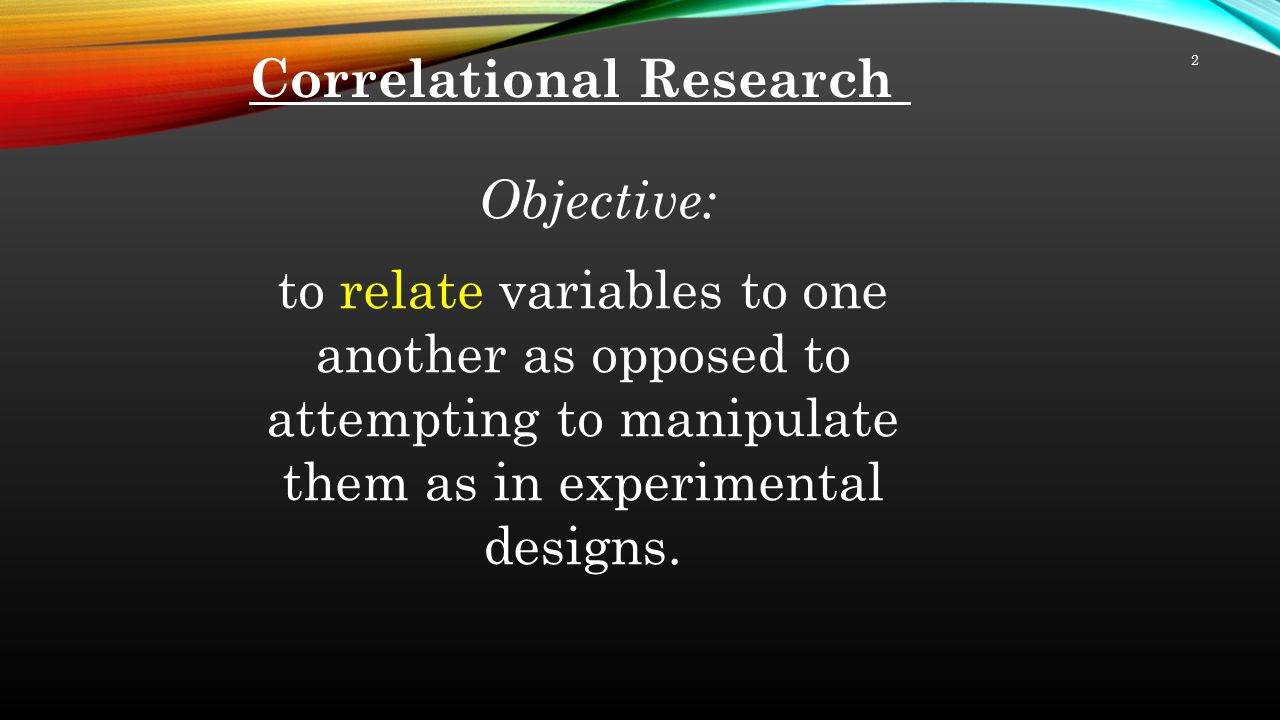 evaluating the correlational research design ho Pdf | different research designs answer different questions educators cannot  use nonexperimental quantitative research designs, such as descriptive surveys  and correlational research, to determine definitively that an  however,  regardless of how appealing an  should consider in critically evaluating reports  of survey.