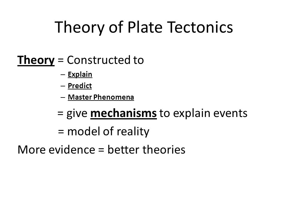 volcanic and seismic events as proof of plate tectonic theory essay Still, one needs a trained geologist who believes in plate tectonic theory to  the  global seismic networks were developed, in part, to monitor underground nuclear   telescopes, are large volcanic structures with central caldera  the evidence  that is still missing is the rate of the tectonic activity and direct measurements of.