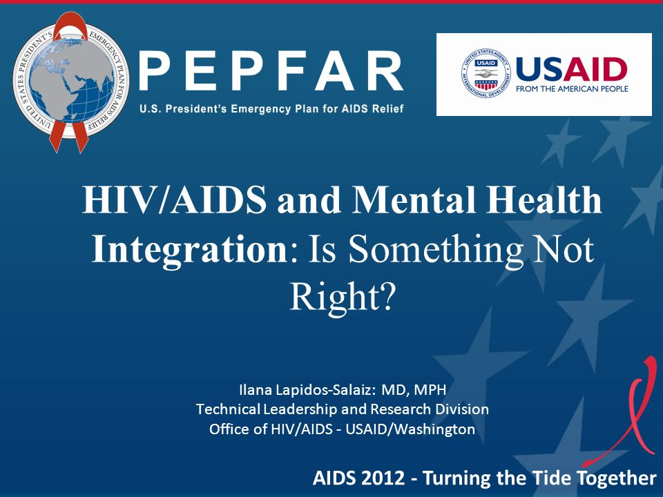 HIV/AIDS and Mental Health Integration: Is Something Not Right