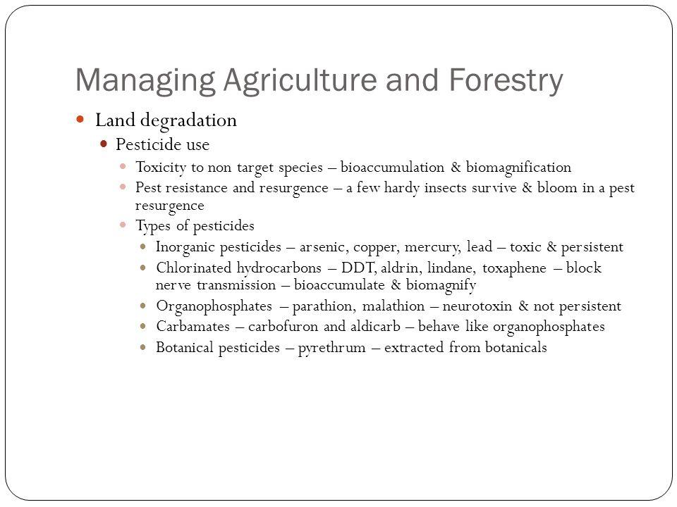 LAND MANAGEMENT ppt download – Biomagnification Worksheet