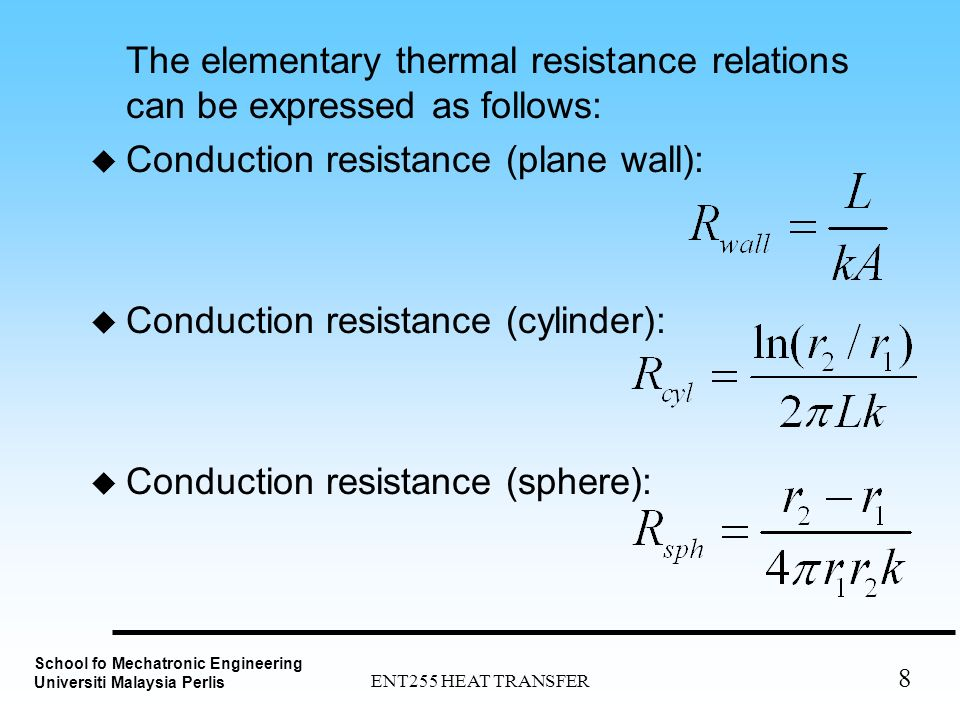 mathematical relationship between conductance and resistance
