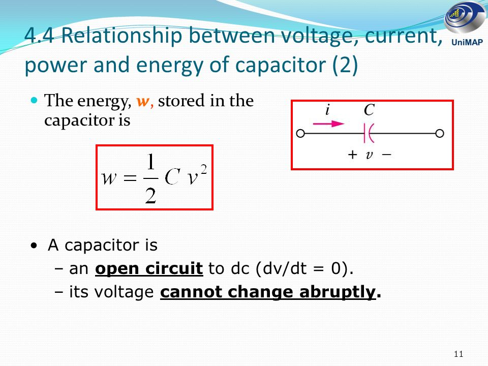 relationship between kvar and capacitance
