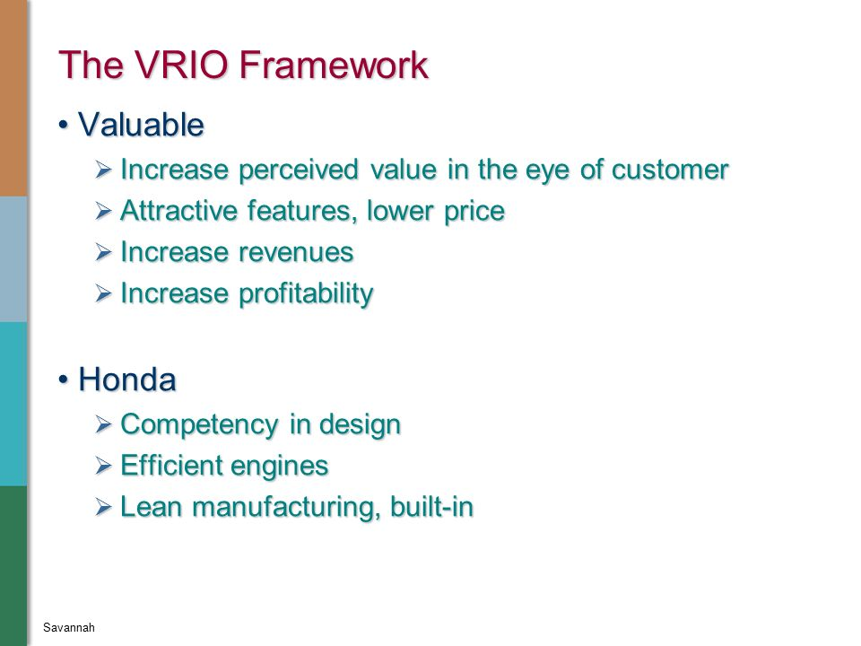 vrio toyota Toyota's globalization strategies - toyota motor corporation, the case details the globalization strategies adopted by one of the world's leading automobile majors, the japan-based toyota motor corporation (toyota) it examines the company's evolution from being japan's number one automaker to a.