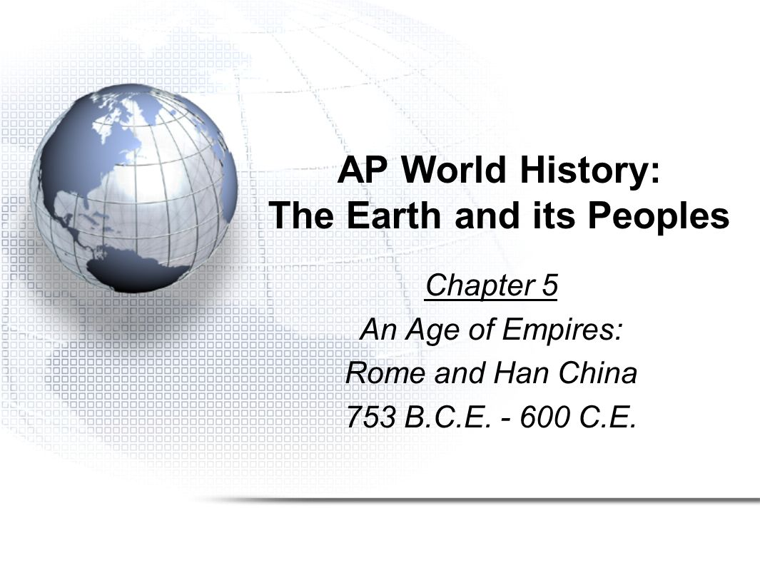 ap world history outline