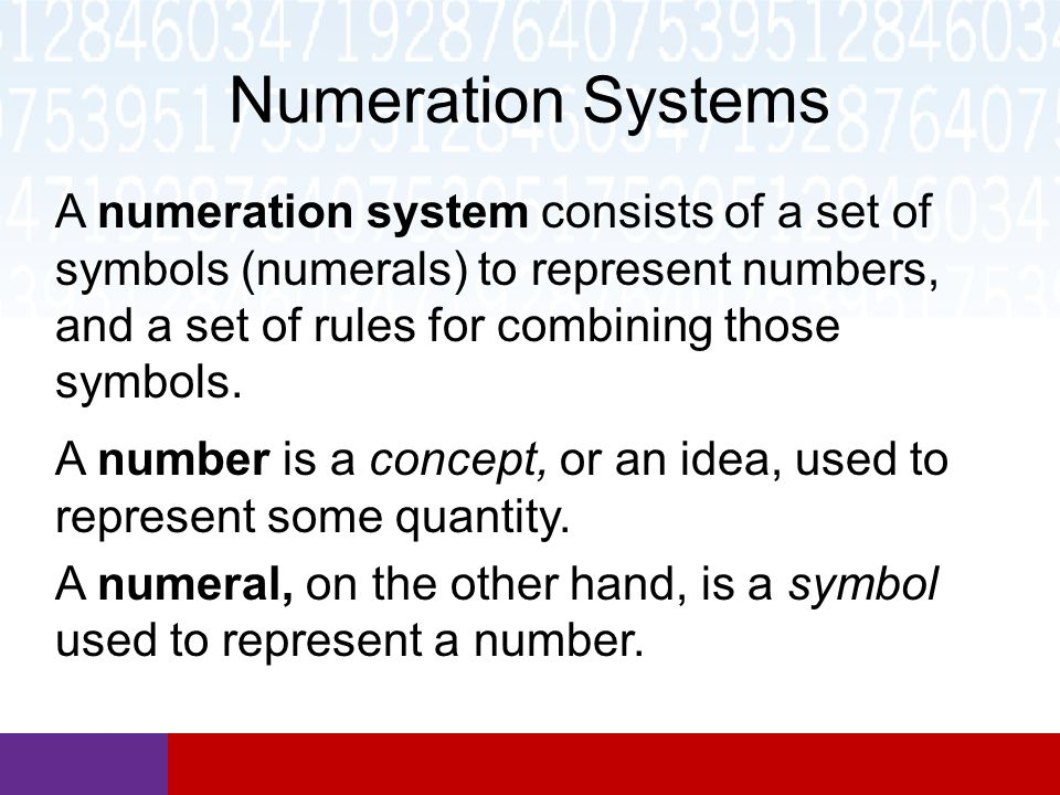 Early And Modern Numeration Systems Ppt Video Online Download