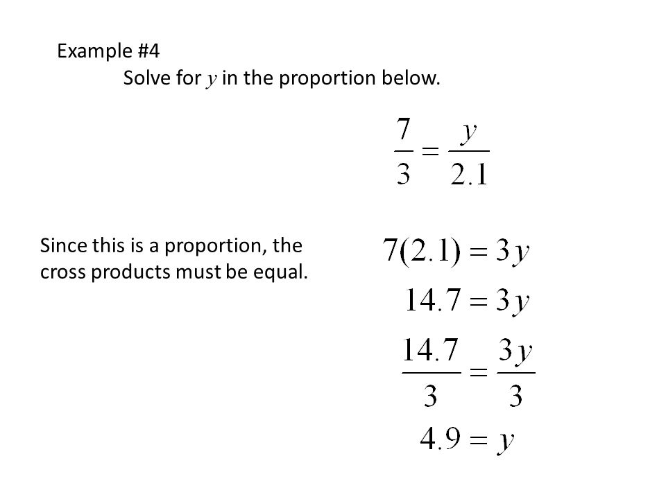 Review of solving Proportions. - ppt download