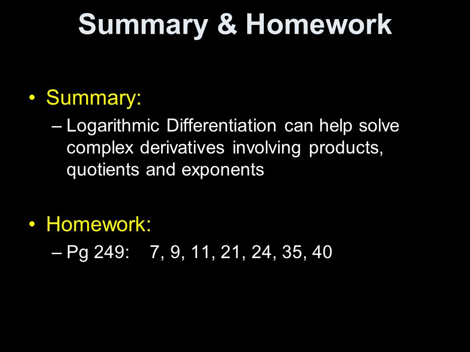 differentiation summary List of the basic rules of differentiation with examples rules of differentiation of functions in calculus the basic rules of differentiation of functions in calculus are presented along with several examples.